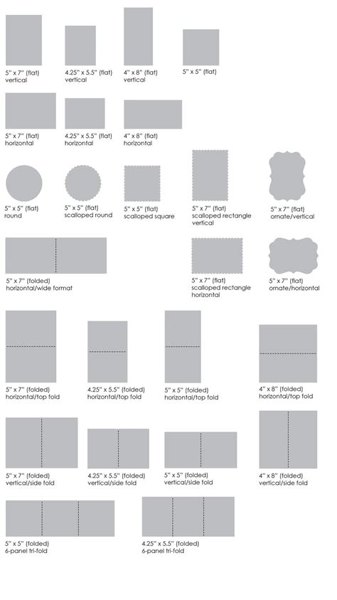 card sizes for card card layout options muddy paws graphics