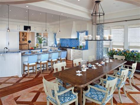 kitchen designers coast coastal kitchen and dining room pictures hgtv