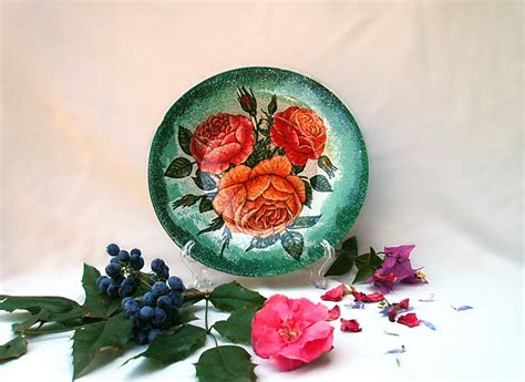 decoupage plates with photos decoupage plates with their master classes and 50