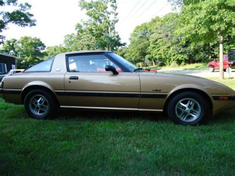 small engine maintenance and repair 1983 mazda rx 7 security system purchase used 1983 mazda rx 7 gsl coupe 2 door 1 1l in east hton new york united states