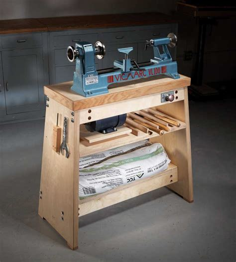 american woodworking how to build the ultimate lathe stand american woodworker