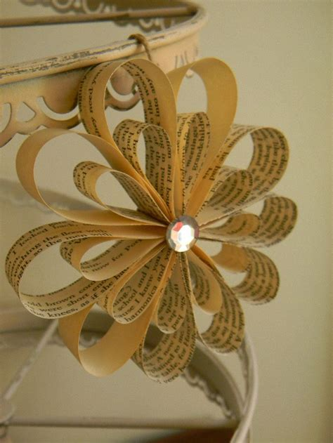 paper book crafts 25 best ideas about book pages on book