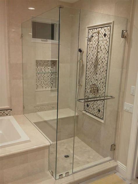 seamless glass doors the 25 best shower doors ideas on shower door