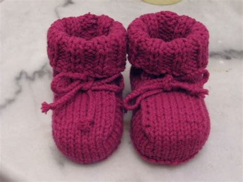 knit baby booties ruth s baby booties kris awesome