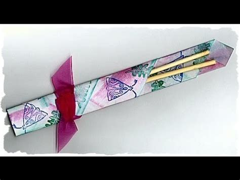 chopstick holder origami how to make an origami chopstick holder hd