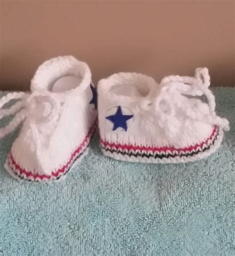 knitted sneakers pattern pdf knitting pattern all sneakers converse baby shoes