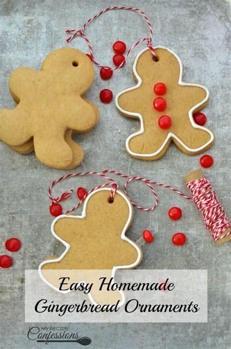 gingerbread ornaments recipe easy gingerbread ornaments my recipe confessions