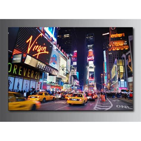 tableaux toile d 233 co taxi new york 55695934 stickers autocollants