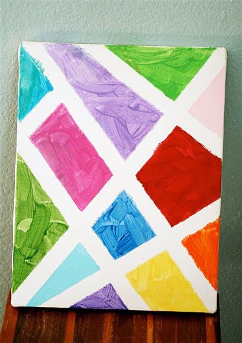 canvas craft ideas for s arts and crafts corner birthday craft