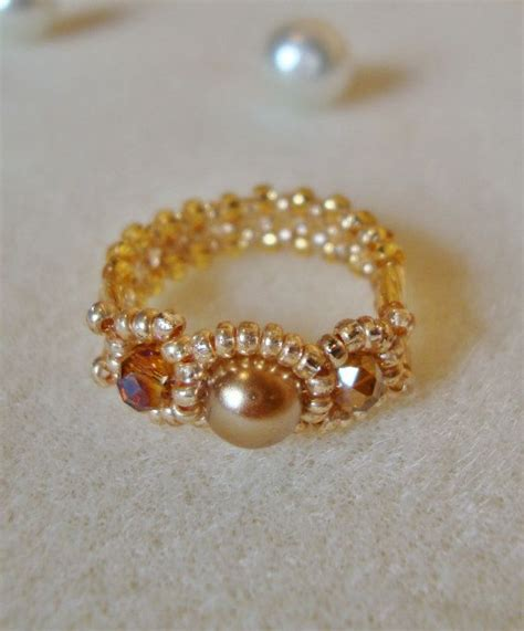 bead ring 613 best images about bead ideas on earrings