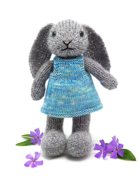 free knitting patterns for rabbits well dressed bunny by fuzzymitten craftsy