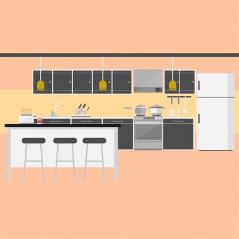 design kitchen free kitchen background design vector free