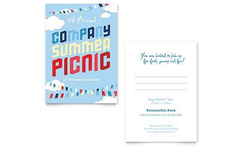 company invitation templates company summer picnic invitation template design