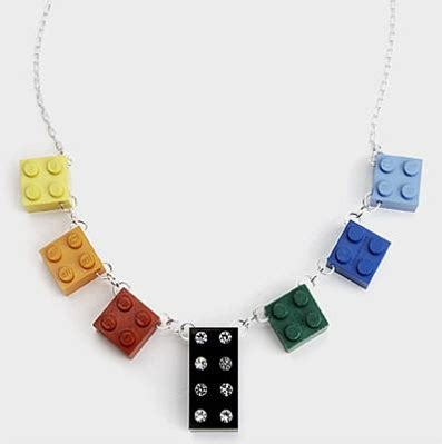 how to make recycled jewelry recycled block necklace