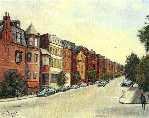 paint nite boston newbury st boston s newbury painting by pirnak