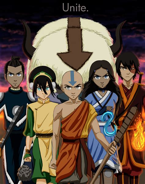 Avatar Boys On The Last Airbender Avatar And