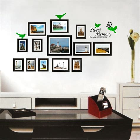 Photo Frame Wall Stickers photo frame wall stickers wall art ideas
