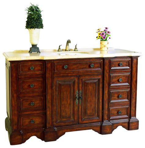 59 inch sink bathroom vanity 59 inch single sink bathroom vanity traditional