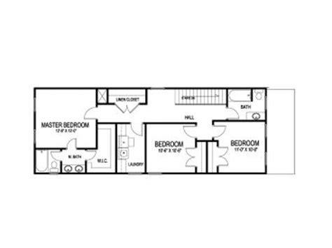 narrow homes floor plans bungalow floor plans for narrow lots