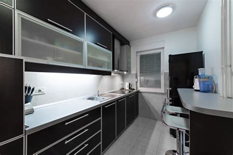 kitchens with black cabinets 52 kitchens with wood and black kitchen cabinets