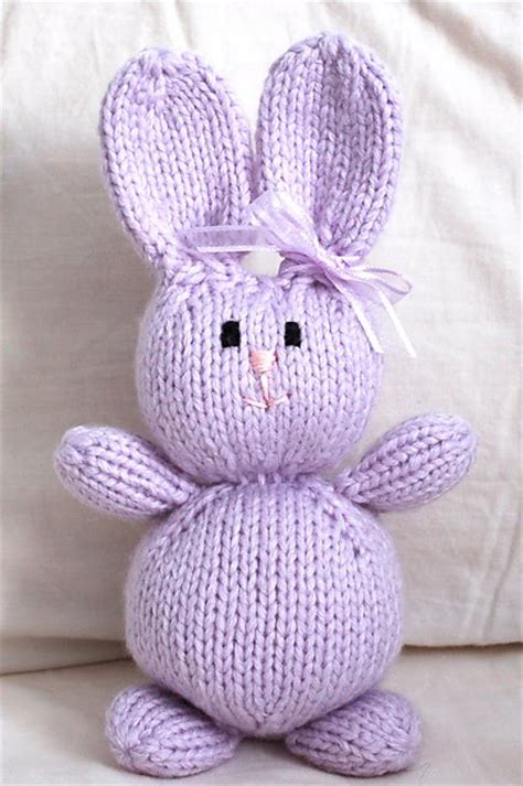 free knitting patterns for rabbits snapdragon crafts april 2012