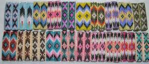 how to make american beaded barrettes american indian beaded hair barrettes bead work