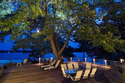 landscape deck lighting deck lighting ideas landscaping network