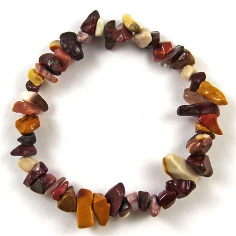 healing gemstone bead bracelet gemstone chip beaded stretch gift charm reiki