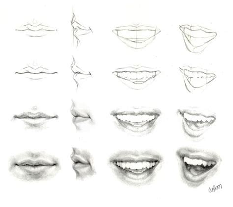 how to draw mouths 1000 ideas about draw on mouths pencil