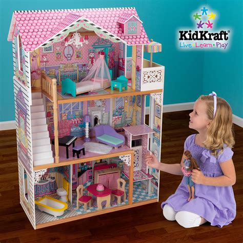 kid craft annabelle dollhouse kidkraft 65079