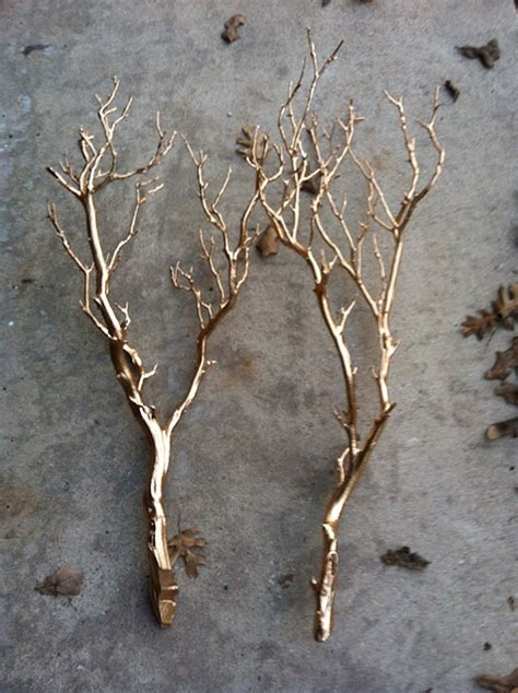spray painting tree branches 21 winter decor ideas that don t scream