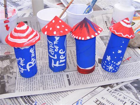 4th of july crafts preschool crafts for 4th of july toilet paper roll
