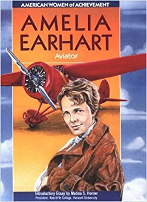 a picture book of amelia earhart amelia earhart of achievement