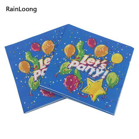 decoupage napkins wholesale rainloong let s paper napkin event tissue blue