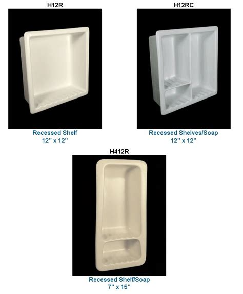 recessed shelves in bathroom recessed ceramic soap dishes more in 33 colors from hcp