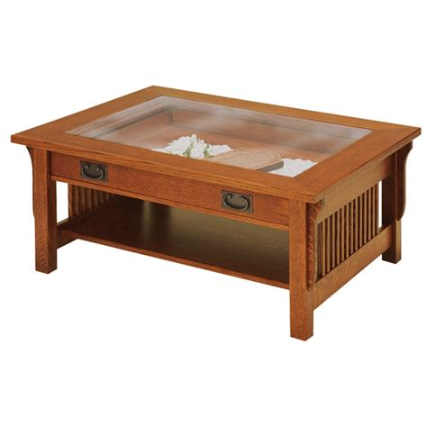 glass top coffee table lancaster glass top coffee table amish amish furniture