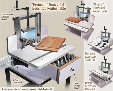 Mlcs Horizontal Router Table
