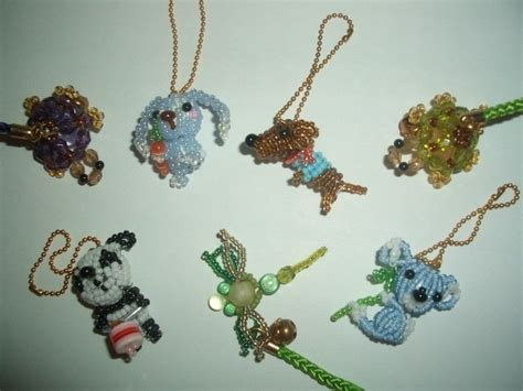 how to make beaded animals bead animals 183 a beaded charm 183 beadwork on cut out keep