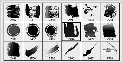 acrylic paint brushes photoshop grunge brushes 18 acrylic paint strokes photoshop free
