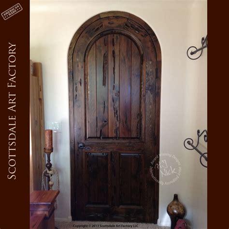 interior archway doors arched wood interior doors custom designer door