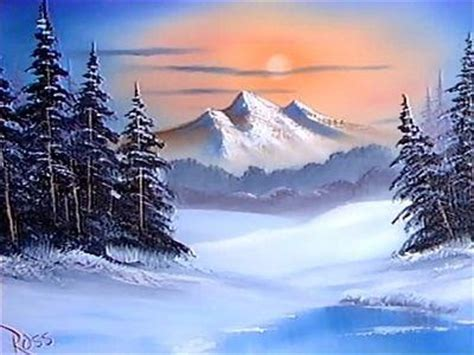 bob ross paintings winter 1986 bob ross winter painting for others you who