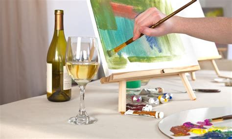 paint nite groupon hawaii wine and paint creative canvas groupon