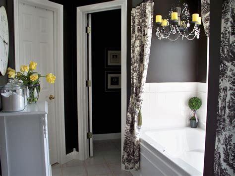black and grey bathroom ideas colorful bathrooms from hgtv fans bathroom ideas