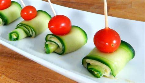 finger food for cucumber hummus appetizer best finger food inspire to