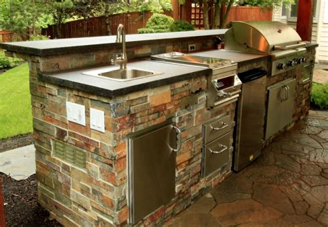 outdoors kitchen beautiful outdoor kitchen ideas for summer freshome