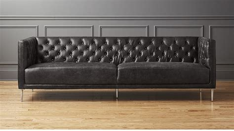 tufted black leather sofa black tufted leather sofa tufted leather sofa bray on