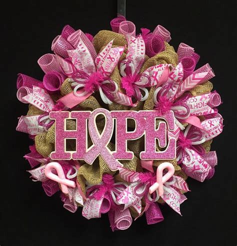 pink wreaths breast cancer wreath pink wreaths 1794 2