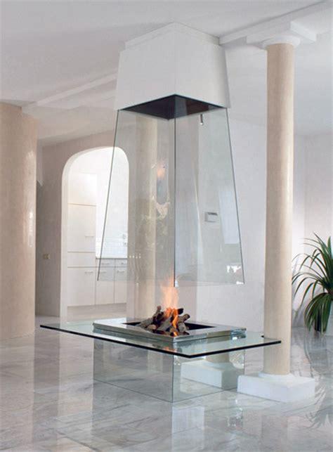 fireplace glass modern and creative fireplace designs