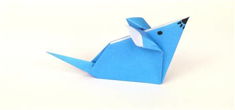 how to make an origami mouse how to fold a simple origami mouse 171 tavin s origami