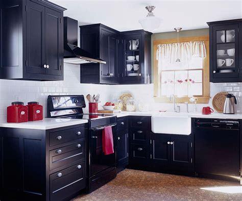 small kitchen black cabinets modern furniture small kitchen decorating design ideas 2011